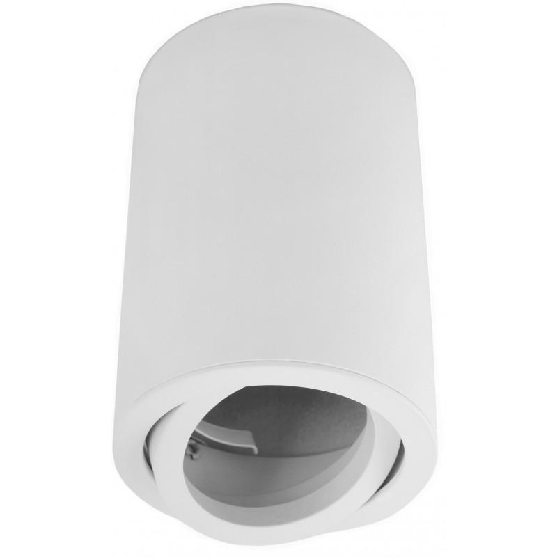 biała oprawa sufitowa LED